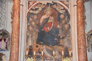 MADONNA DELLE GRAZIE (1371) in der Chiesa della Madonna - Maggione