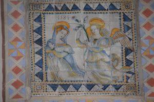 Madonna in der Kirche von Montecologna