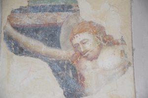 Fresko in der Kirche von Montekologna