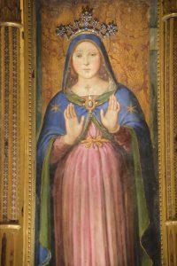 Die Madonna in der Kathedrale von Perugia