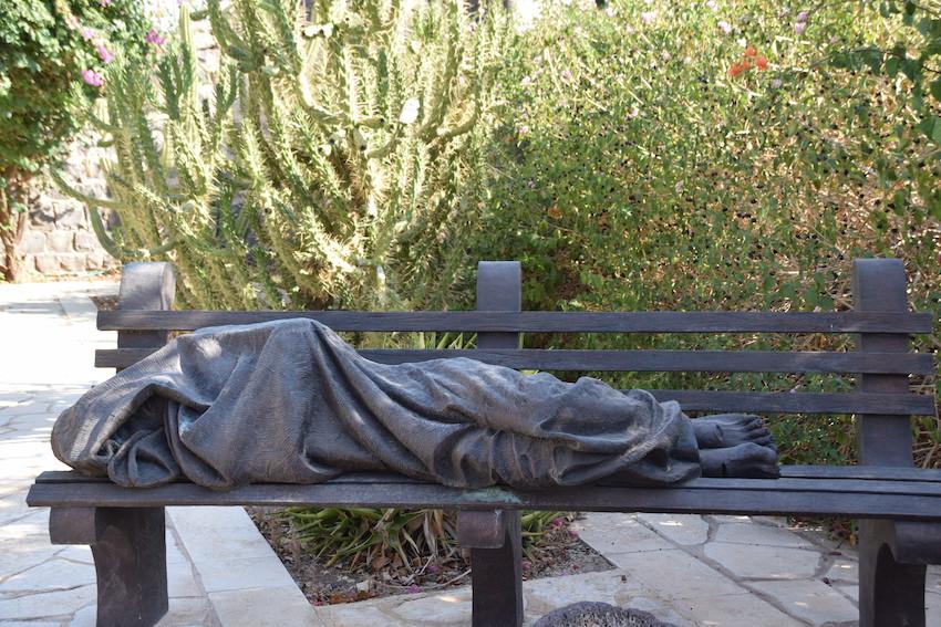 Gott unter und im Gewand des Menschen - Jesus auf der Parkbank in Kapharnaum - Primizpredigt für Florian Stadlmayr